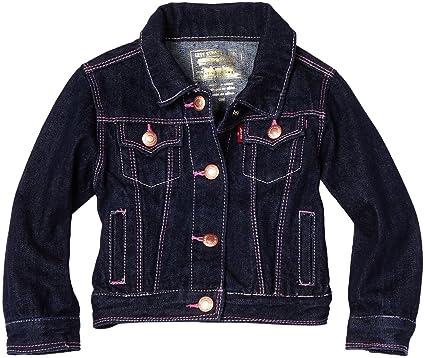 1f78e101c Amazon.com  Levi s Baby Girls  1705 Denim Jacket