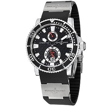 fc2ecce6a6ead Image Unavailable. Image not available for. Color  Ulysse Nardin Maxi Marine  Diver Chronometer Men s ...