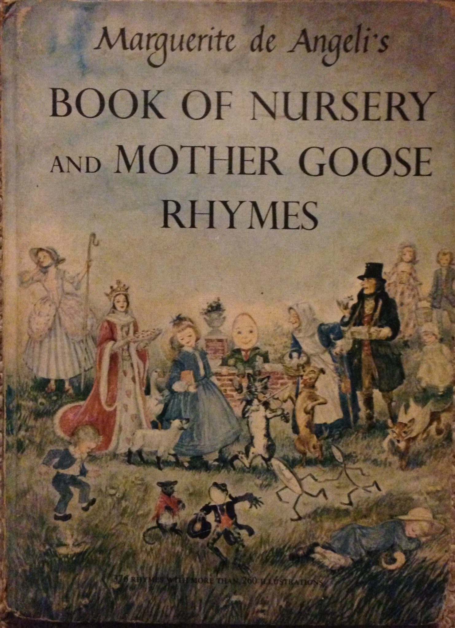 Book of Nursery and Mother Goose Rhymes: Marguerite De Angeli ...