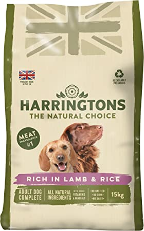 Amazon Com Harrington S Dog Food Complete Lamb And Rice Dry Mix