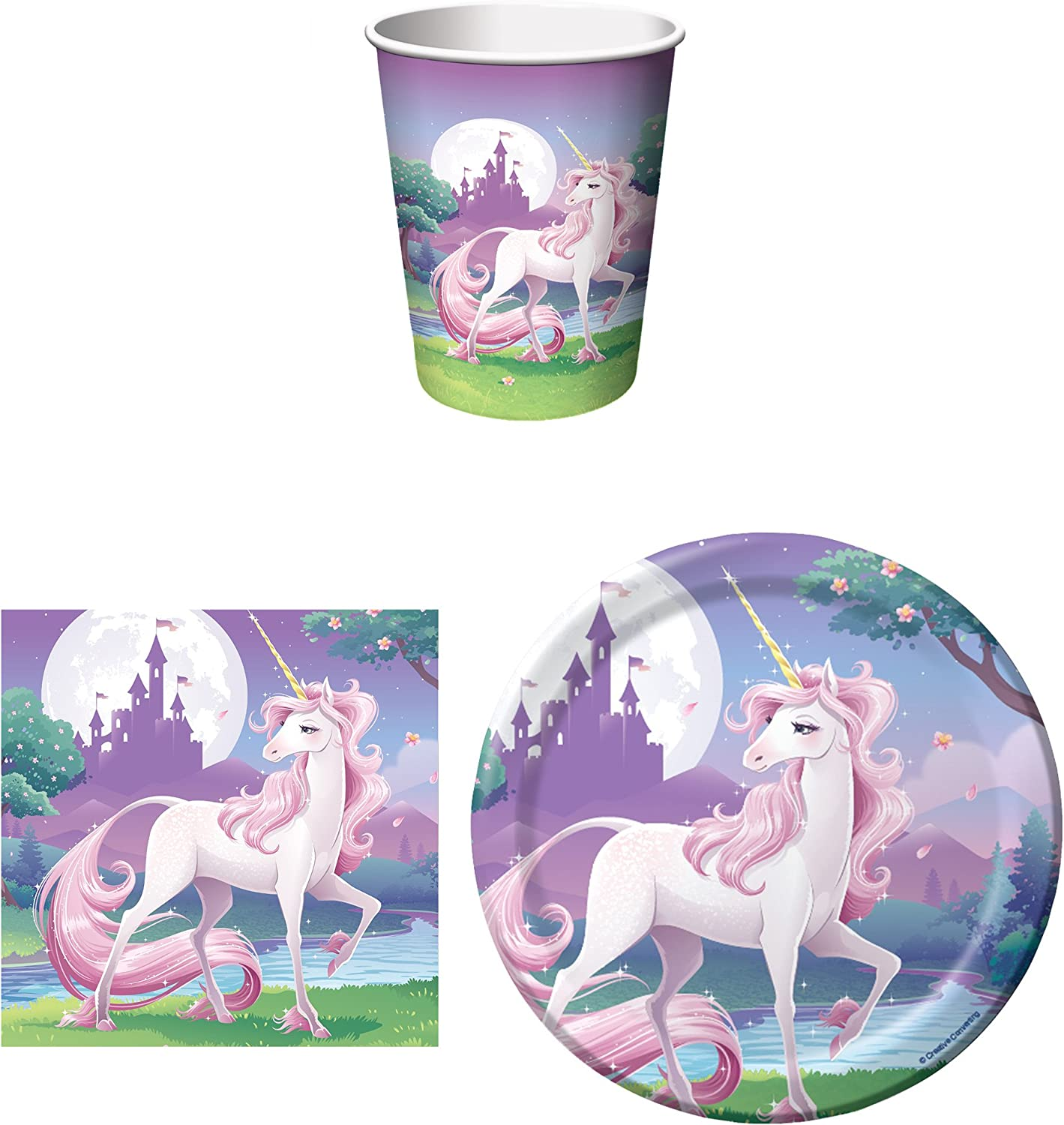Unicorn Fantasy Party Supplies by Creative Converting