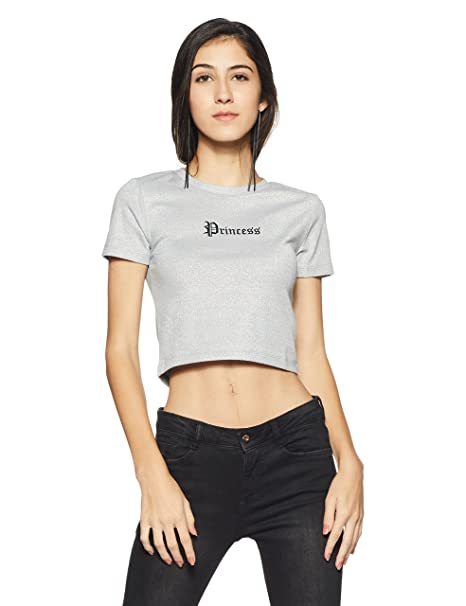 Forever 21 Women S Regular Fit T Shirt Amazon In Clothing
