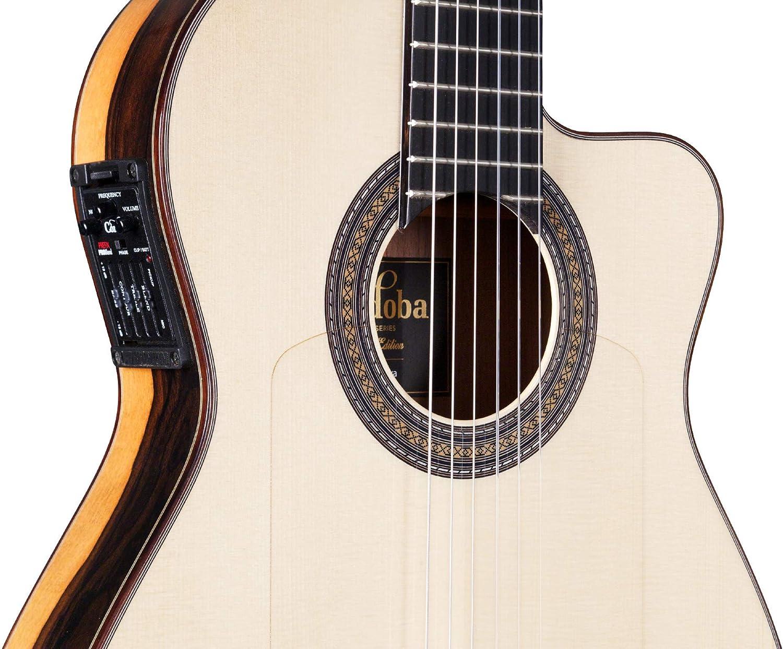 Cordoba 55 FCE Negra Ziricote · Guitarra clásica: Amazon.es ...