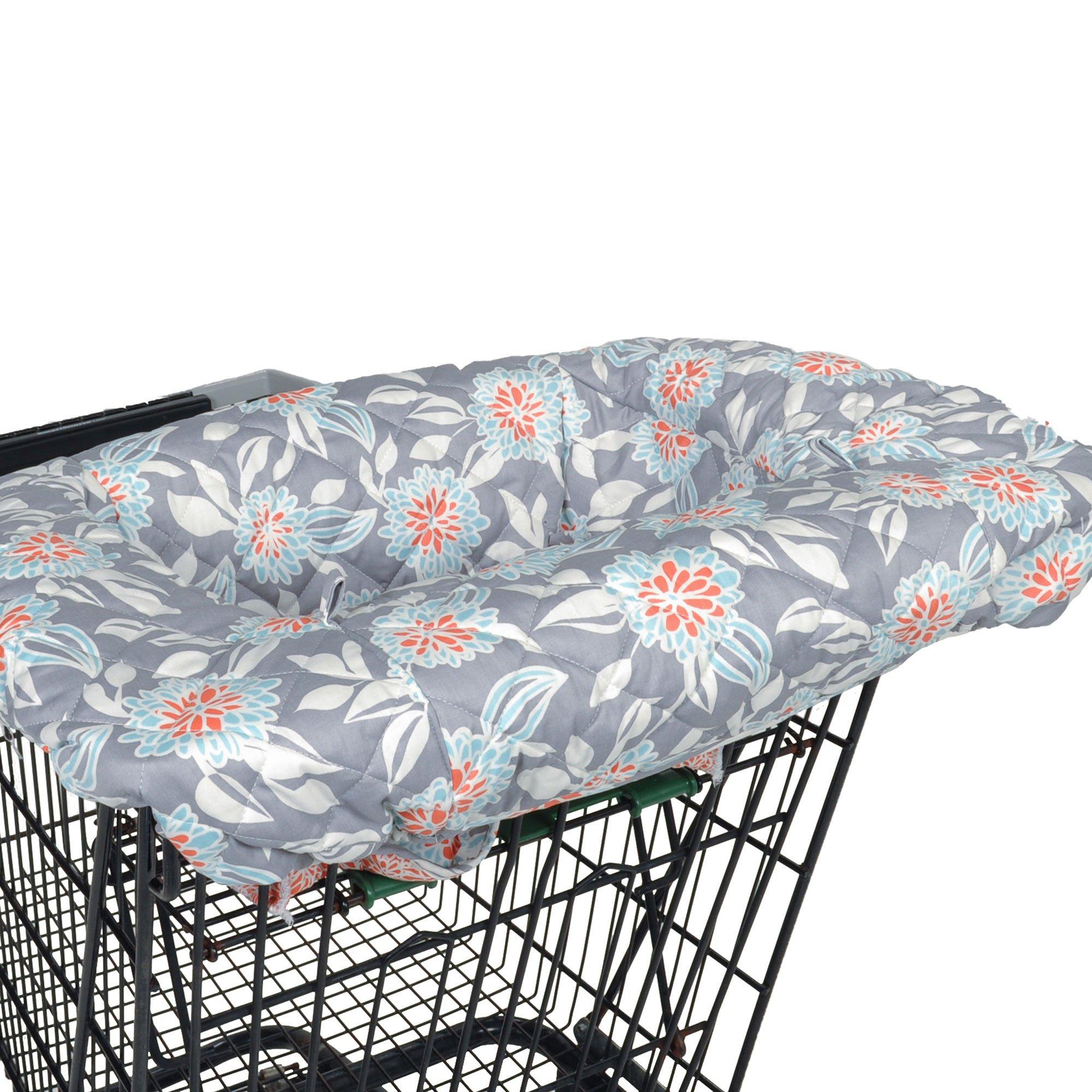 Balboa Baby Shopping Cart & High Chair Cover - Grey Dahlia