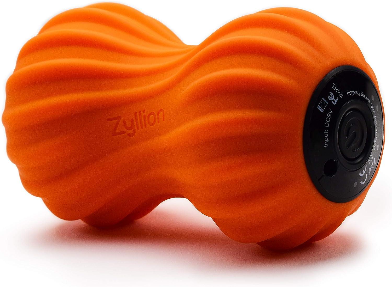 Red Pulseroll Vibrating Peanut Massage Ball