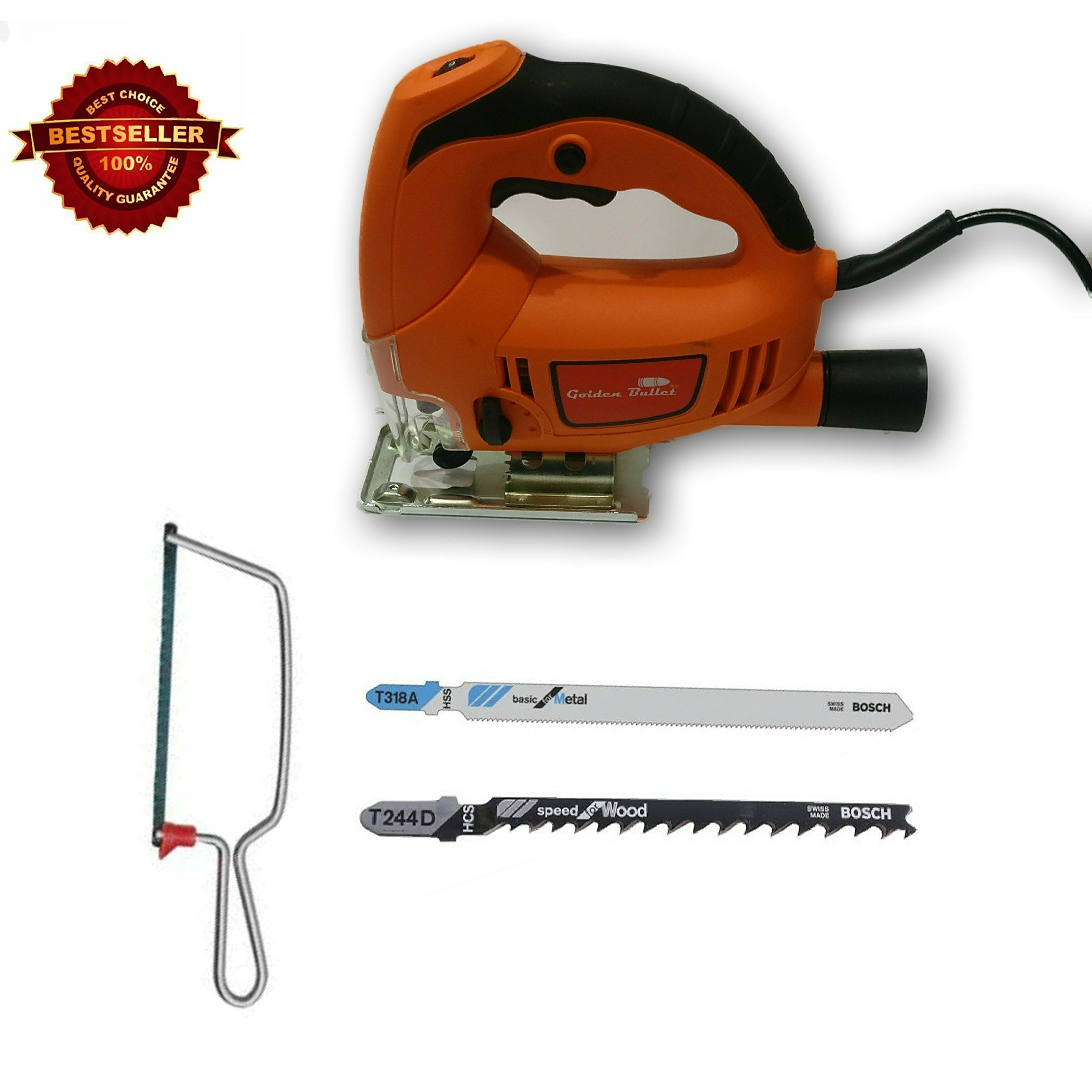 Tools Centre Jigsaw Machine (Industrial Quality) With Variable Speed & Free Blades For Metal