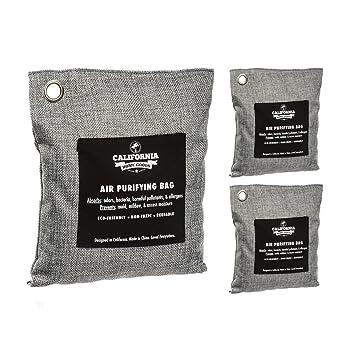 Amazon.com: Bolsas absorbentes de ódor de carbón activado (3 ...
