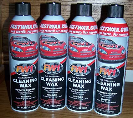 amazon com fw1 wash and wax 4 can pack everything else
