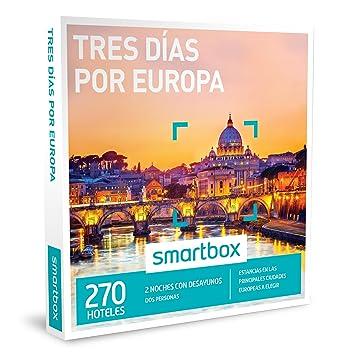 SMARTBOX - Caja Regalo - TRES DÍAS POR EUROPA - 270 estancias en las principales ciudades europeas a elegir: Amazon.es: Deportes y aire libre