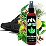 Natural Shoe Deodorizer Spray and Foot Odor Eliminator - Extra Strength Shoe Spray uses Essential Oils As Organic Deodorant - Peppermint, Tea Tree, Eucalyptus