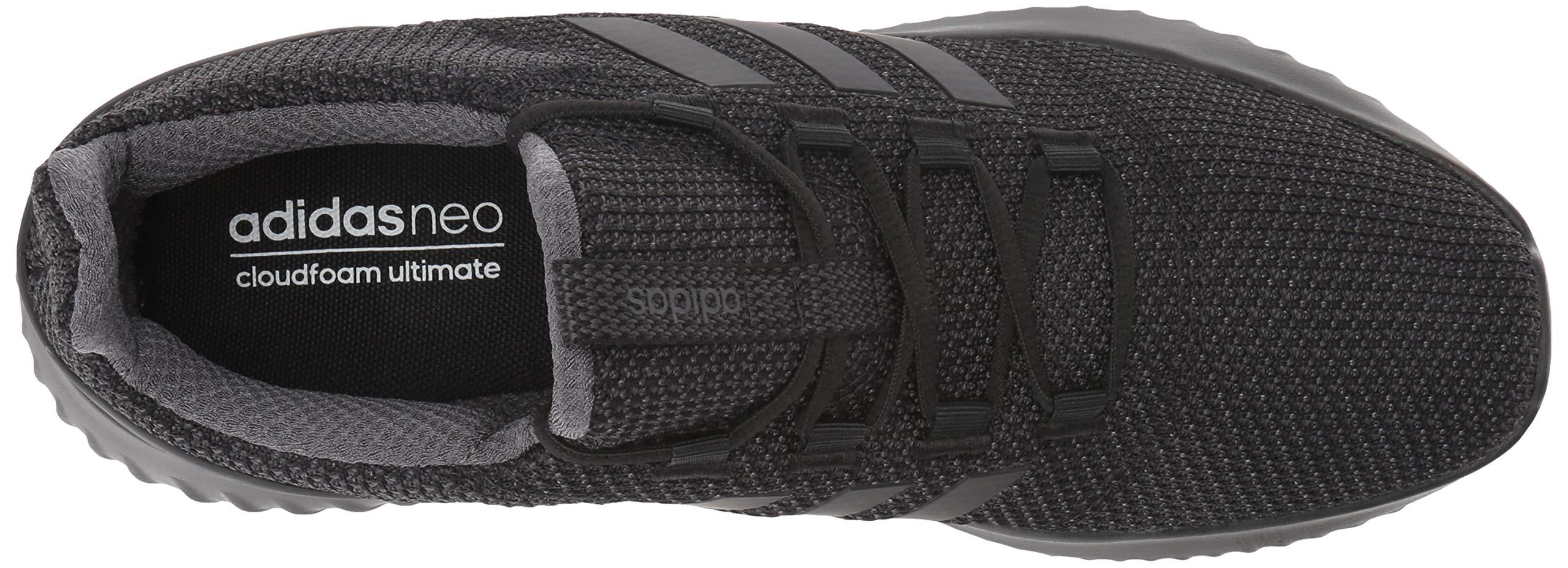 adidas Men's Cloudfoam Ultimate Running Shoe Utility Black, 9.5 M US by adidas (Image #8)