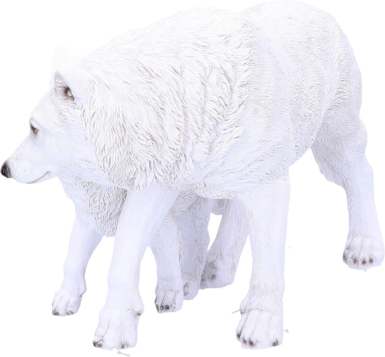 Taille Unique Nemesis Now Winter Offspring 27,5 cm Blanc