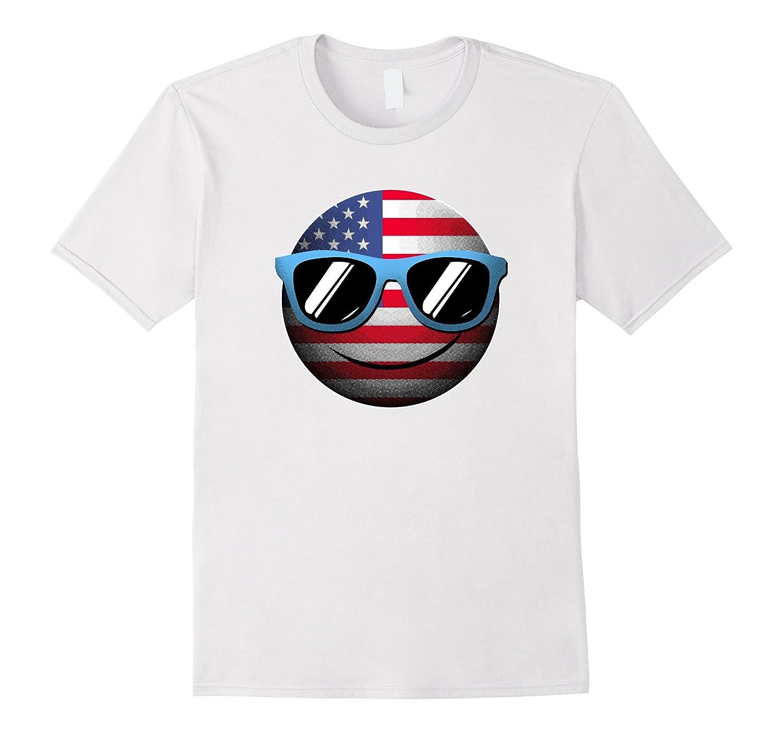 a6935bbc818f5 Emoji 4th July T-Shirt-ANZ - Anztshirt