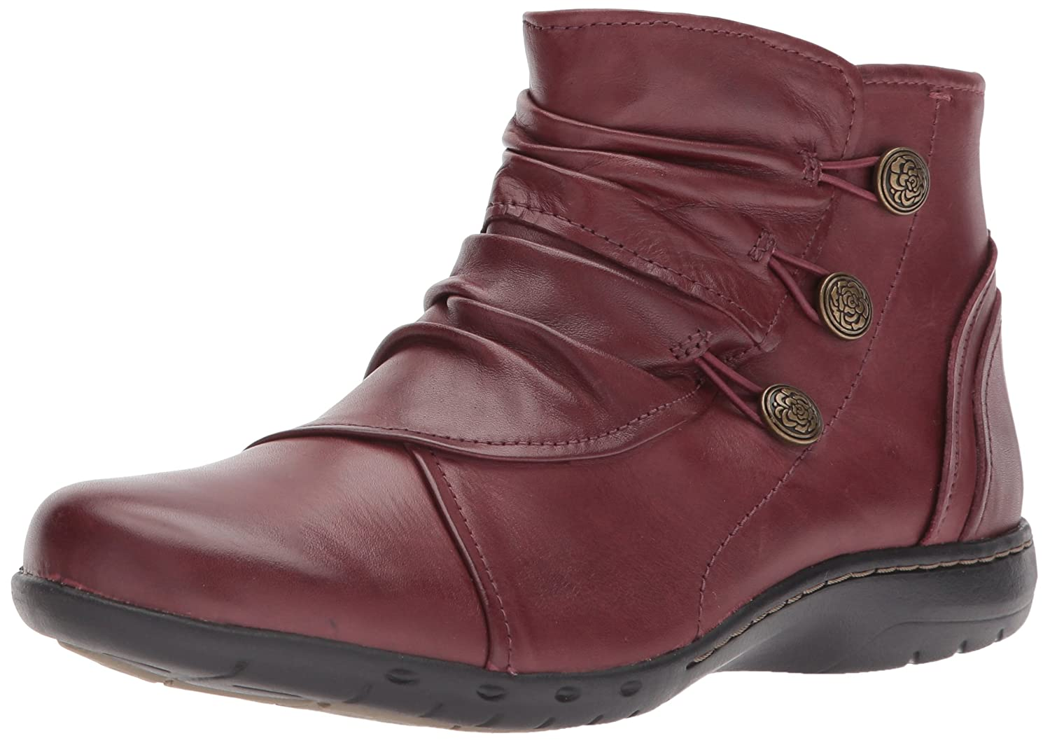 Cobb Hill Women's Penfield Boot B01MYBYSA5 7.5 B(M) US|Bordeaux Leather