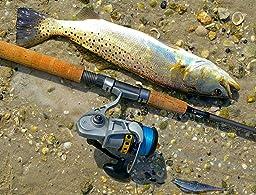 Hurricane redbone inshore spinning rod for Redbone fishing rods