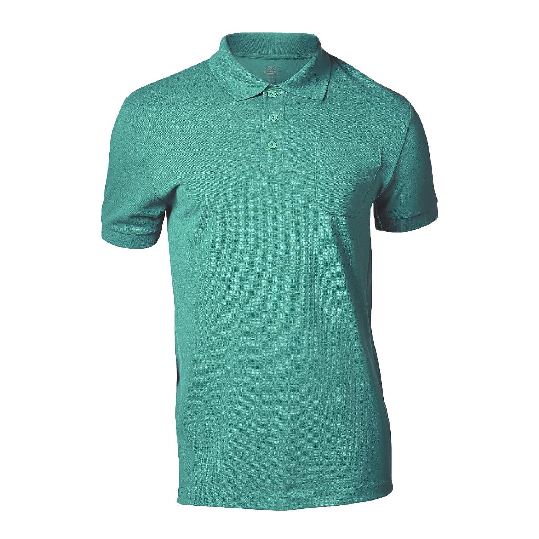 Pastel Blue Mascot 51586-968-94-4XL Polo-ShirtOrgon Size 4XL
