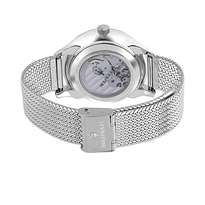 Maserati Herren Analog Mit Armband Uhr Automatik Edelstahl Nn0v8OywmP