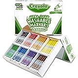 Crayola Bulk Broad Line Washable Markers, School Supplies Classpack, 200 Count, Assorted