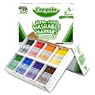 Crayola Bulk Broad Line Washable Markers, School Supplies Classpack, 200 Count, Assorted