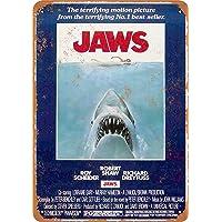 Jaws Shark Póster De Pared Metal Retro Placa