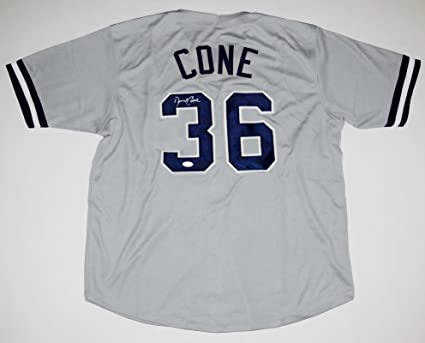 on sale 45cd5 22169 David Cone Autographed Jersey (New York Yankees) - JSA COA ...