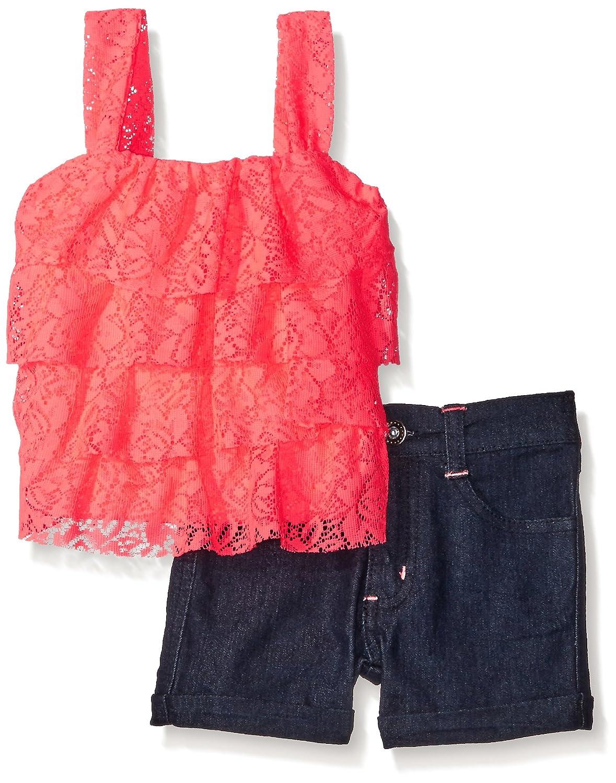 Limited Too Girls 2 Piece Fashion Tank Short Set