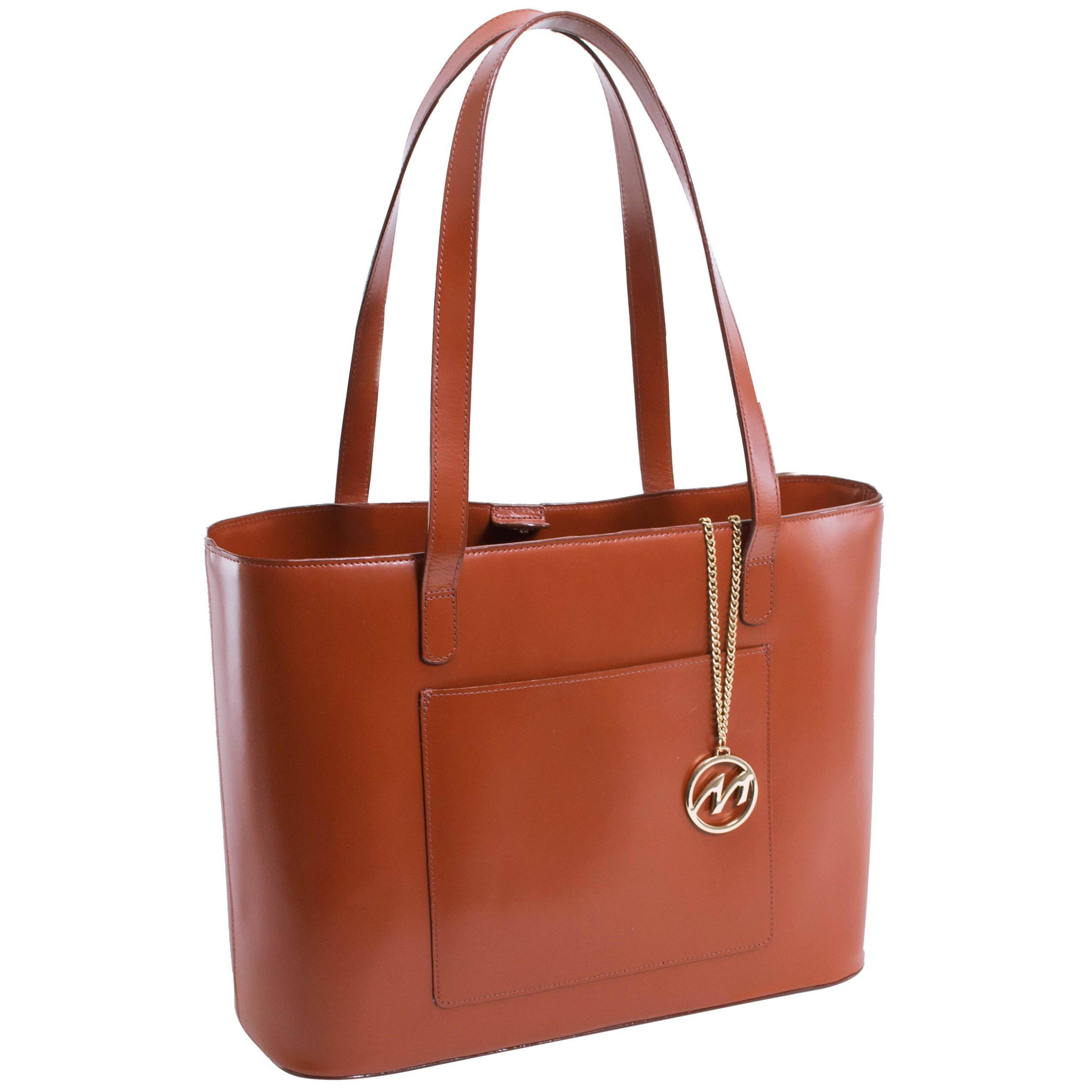 McKleinUSA ALYSON 97534 Brown Leather Computer Bag