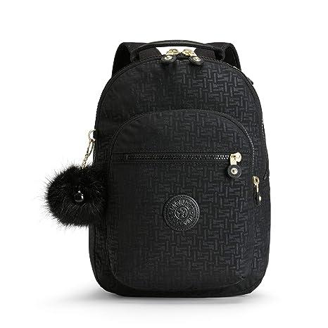 Kipling CLAS SEOUL S Mochila escolar, 34 cm, 10 litros, Negro (Black Pylon Emb): Amazon.es: Equipaje