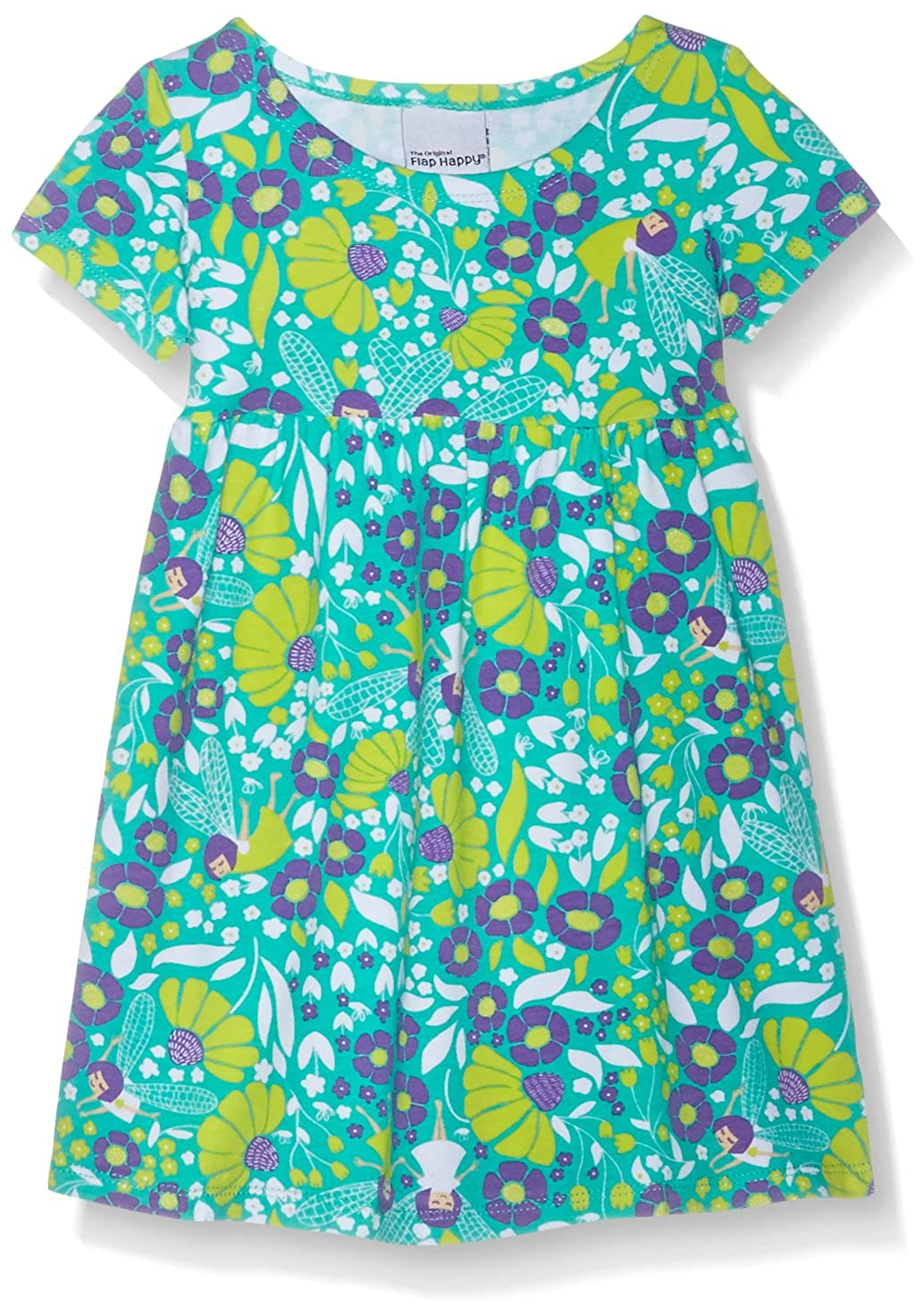 Flap Happy Baby Girls' Classic Tee Dress TDA7AZ
