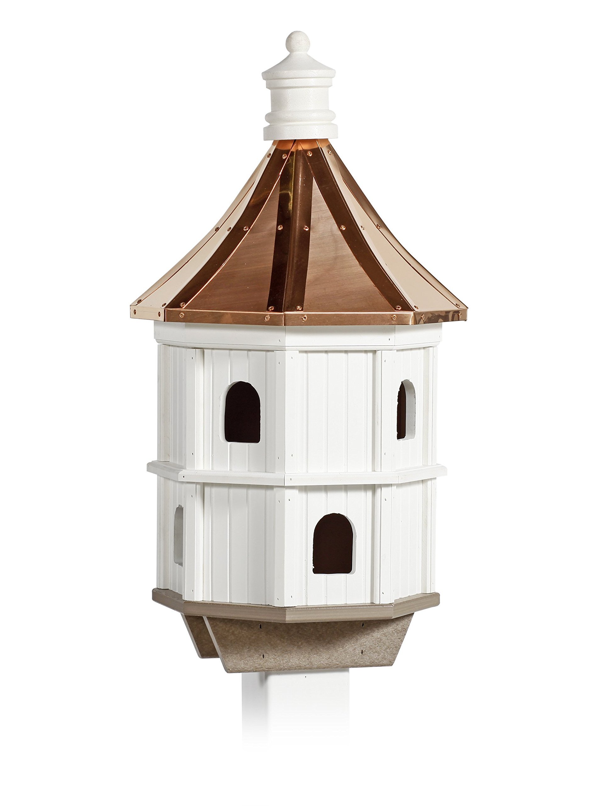 Condo Birdhouse with Copper Roof Amish Made in USA