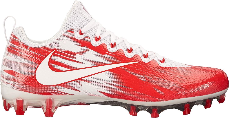 NikeメンズVapor Untouchable Proラクロスクリート米国 B06X93ZHYZ 10.5 D(M) US|ホワイト/レッド ホワイト/レッド 10.5 D(M) US