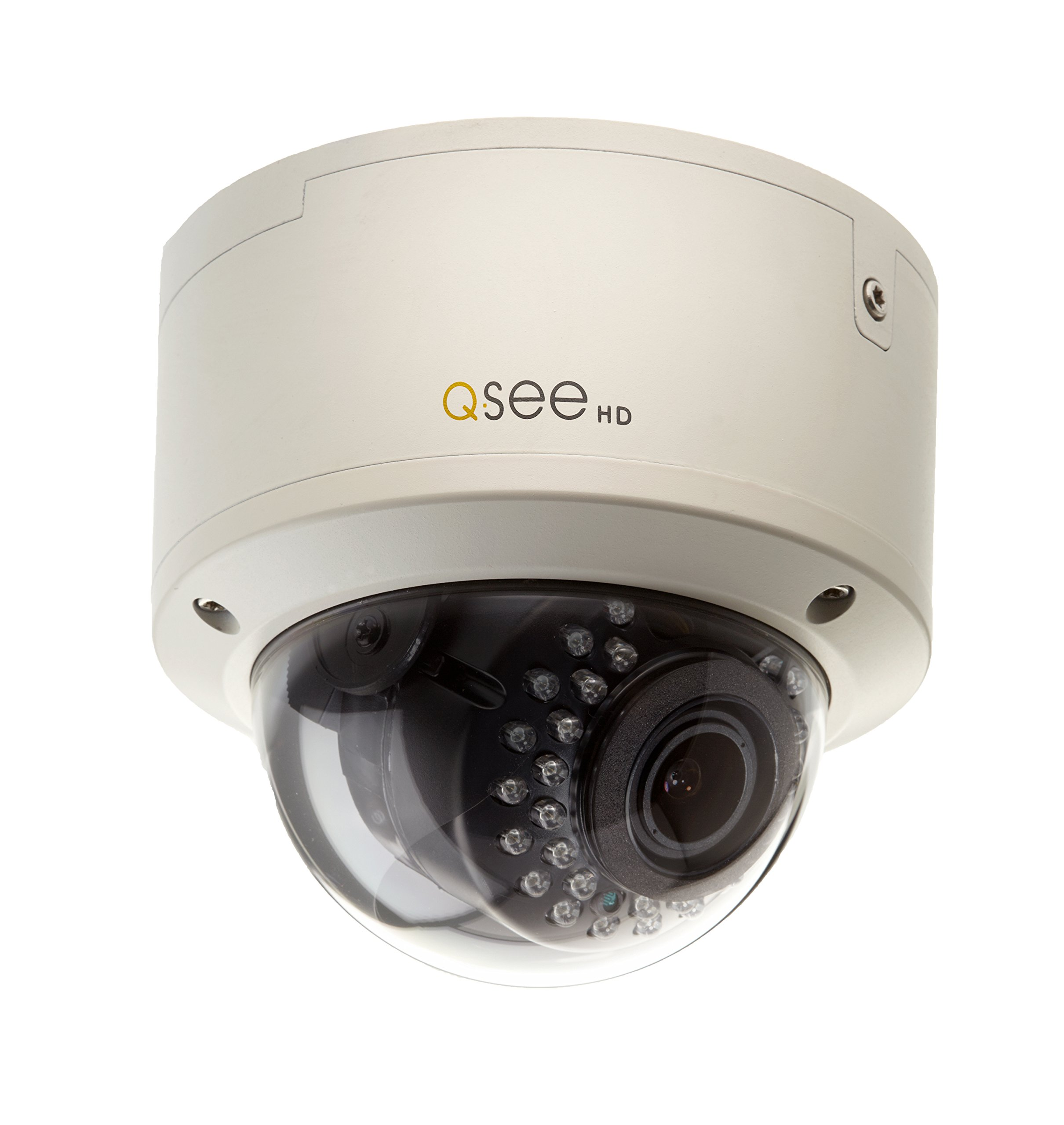 Q-See QTH8078BA 1080p High Definition Analog, Auto Focus Dome Security Camera