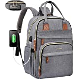 LOVEVOOK Laptop Backpack for Men & Women Unisex Travel Anti-Theft Bag Business Work Computer Backpacks Purse College School S