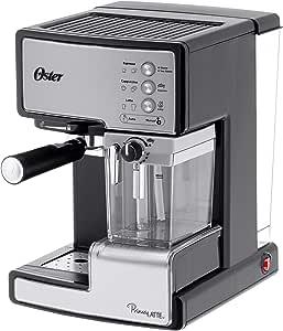 Oster Prima Latte - Cafetera espreso con tratamiento de leche, 15 ...