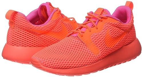 f81b607d737b5 Nike Women s Roshe One Hyp Br Ttl Crimson Ttl Crmsn Pnk Blst Running Shoe 7  Women US  Amazon.ca  Shoes   Handbags