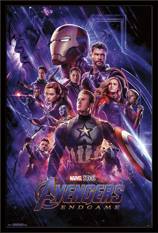 """Trends International Avengers: Endgame - One Sheet Wall Poster, 24.25"""" X 35.75"""", Multi"""