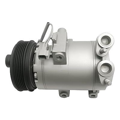 RYC Remanufactured AC Compressor and A/C Clutch FG672: Automotive