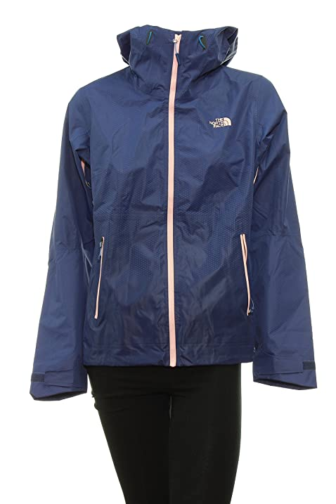 48273acb593a store womens the north face fuseform dot matrix rain jacket medium patriot  blue 54ba3 a789a