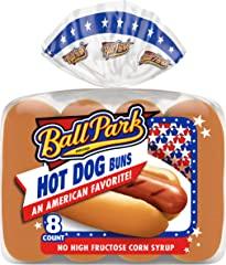 Ball Park Hot Dog Buns, 8 count, 14oz