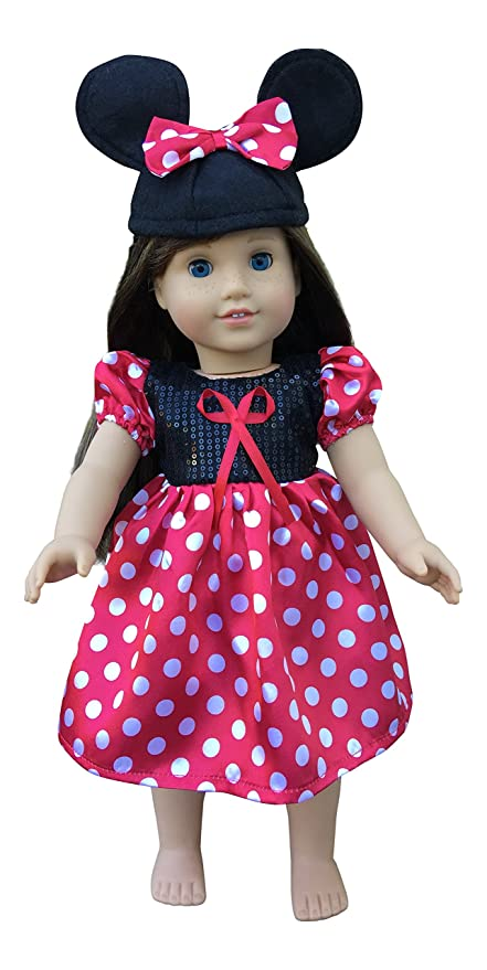 Amazon.com: In-Style American Girl Doll Clothes accessories for 18 ...