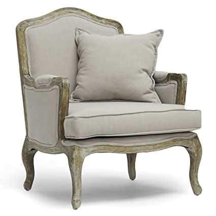 Merveilleux Baxton Studio Constanza Classic Antiqued French Accent Chair