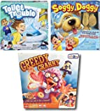 Soggy Doggy, Toilet Trouble and Greedy Granny Board Game Bundle