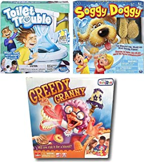 Amazon soggy doggy and googly eyes board game bundle toys games soggy doggy toilet trouble and greedy granny board game bundle freerunsca Gallery