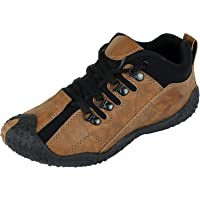Tempo Men's Red Sports Shoes