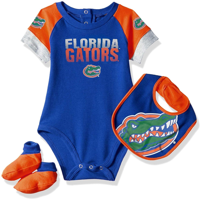 Gen 2 NCAA Unisex-Child NCAA Newborn & Infant 50 Yard Dash Bib & Bootie Set K N8-P