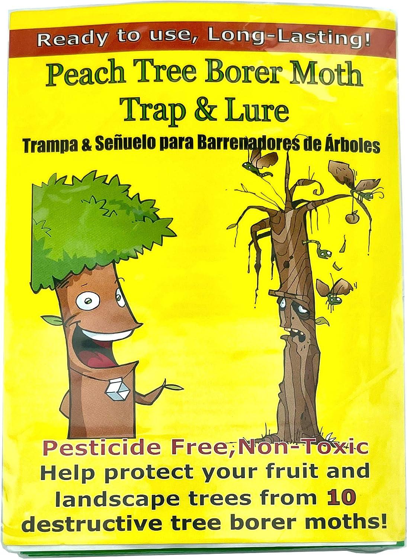 VivaTrap! Peach Tree Borer & Clearwing Moth Trap + Long Life Lure (2 Pack, 8 Week)