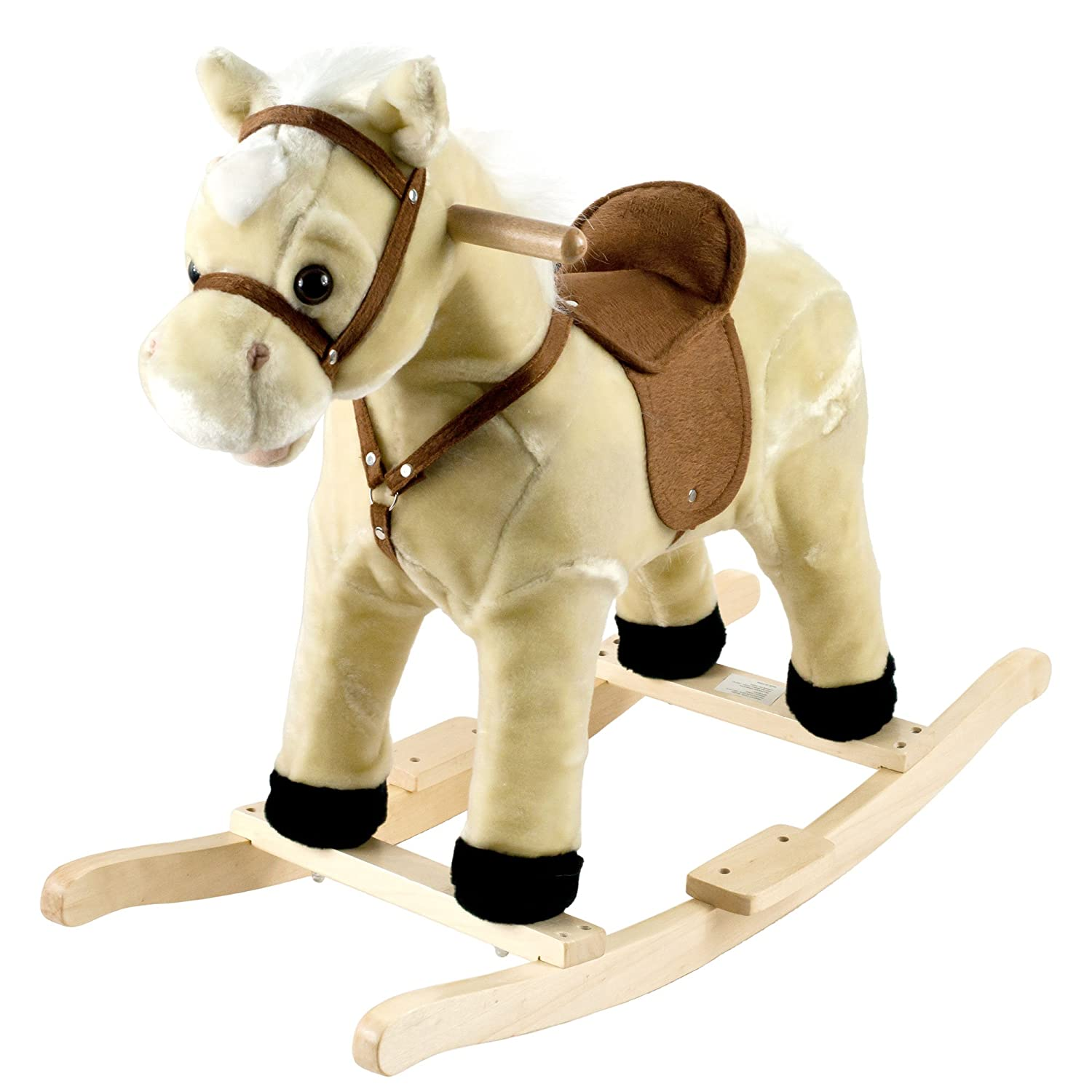 Happy TrailsロッキングLil Henry the Horse Ride On   B06W2KN5M2