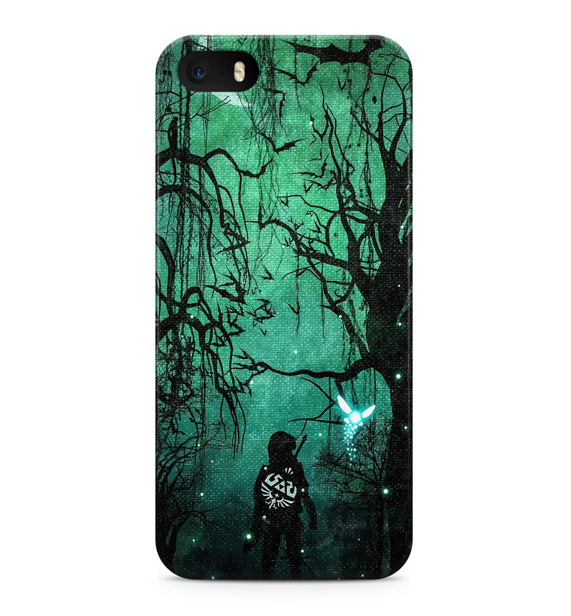 Legends Of Zelda Hard Plastic Snap-On Case Skin Cover For Iphone 5 / Iphone 5S 2