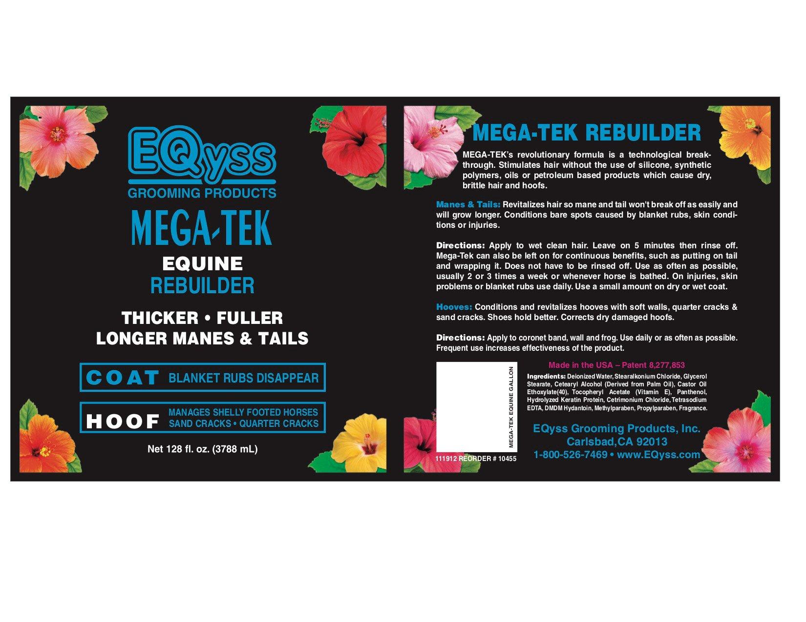 Eqyss Mega-Tek Rebuilder 128 oz by Eqyss (Image #2)