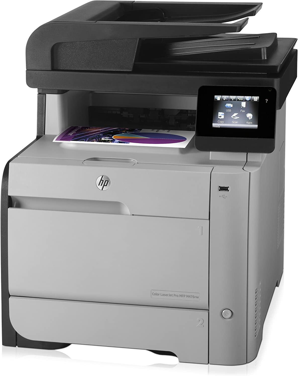 HP Color LaserJet Pro MFP M476nw (Renewed)